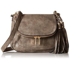 Aldo// saddle crossbody bag